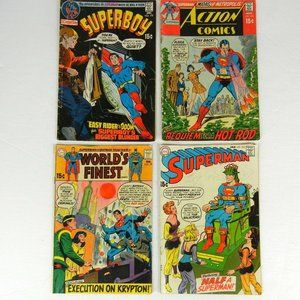 DC Action Comics Worlds Finest Superman Superboy #